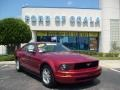 2006 Redfire Metallic Ford Mustang V6 Deluxe Coupe  photo #1
