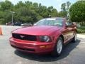 2006 Redfire Metallic Ford Mustang V6 Deluxe Coupe  photo #7
