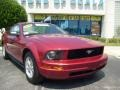 2006 Redfire Metallic Ford Mustang V6 Deluxe Coupe  photo #9