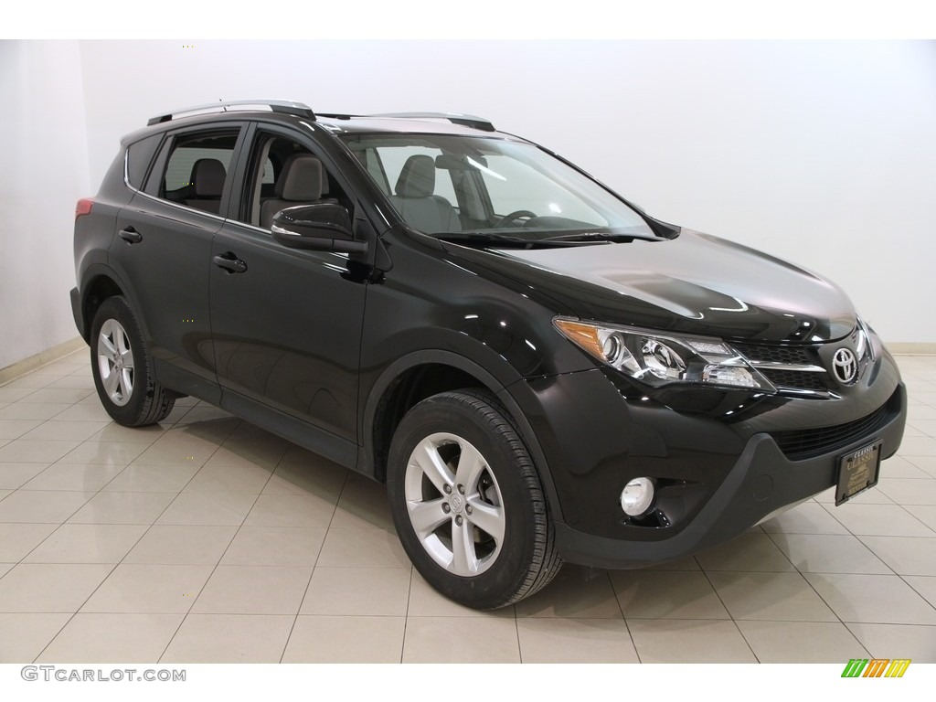 2014 black toyota rav4 xle awd 118483075. Black Bedroom Furniture Sets. Home Design Ideas