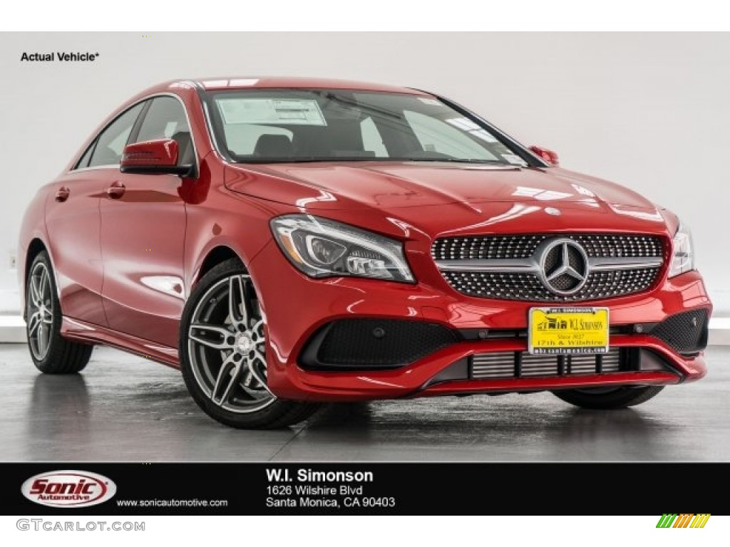 2017 jupiter red mercedes benz cla 250 coupe 118482943 car color galleries. Black Bedroom Furniture Sets. Home Design Ideas