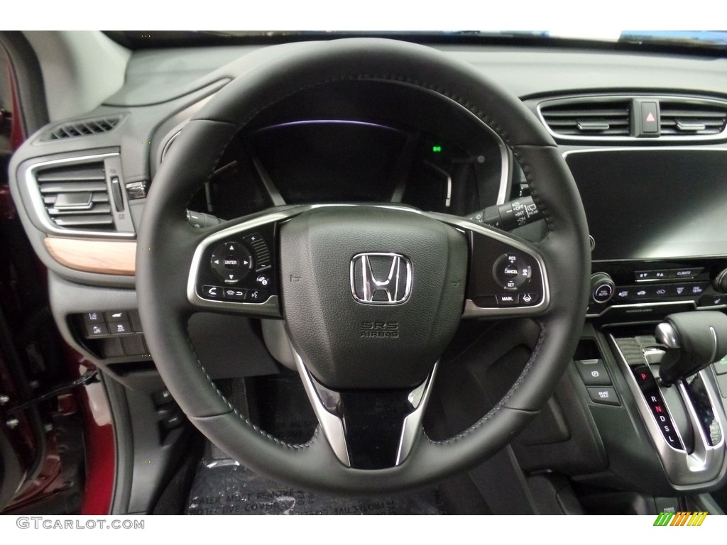 2017 honda cr v ex l awd gray steering wheel photo. Black Bedroom Furniture Sets. Home Design Ideas