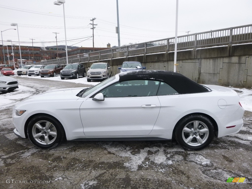 2017 Oxford White Ford Mustang V6 Convertible #118516599 ...