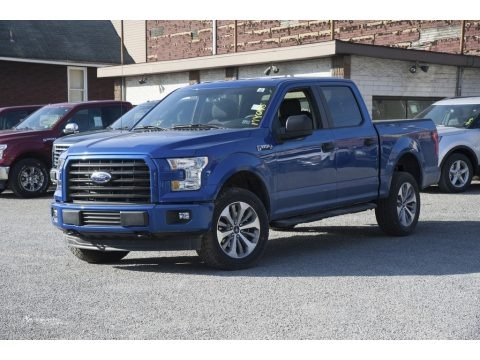 2017 Ford F150 XL SuperCrew 4x4 Data, Info and Specs ...