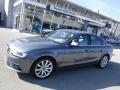 Monsoon Gray Metallic 2013 Audi A4 2.0T quattro Sedan