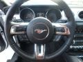 2016 Ford Mustang Dark Saddle Interior Steering Wheel Photo