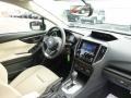 2017 Subaru Impreza Ivory Interior Dashboard Photo