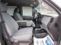 2012 Ingot Silver Metallic Ford F250 Super Duty XL Crew Cab 4x4  photo #25