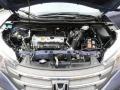 2014 Twilight Blue Metallic Honda CR-V EX-L AWD  photo #16