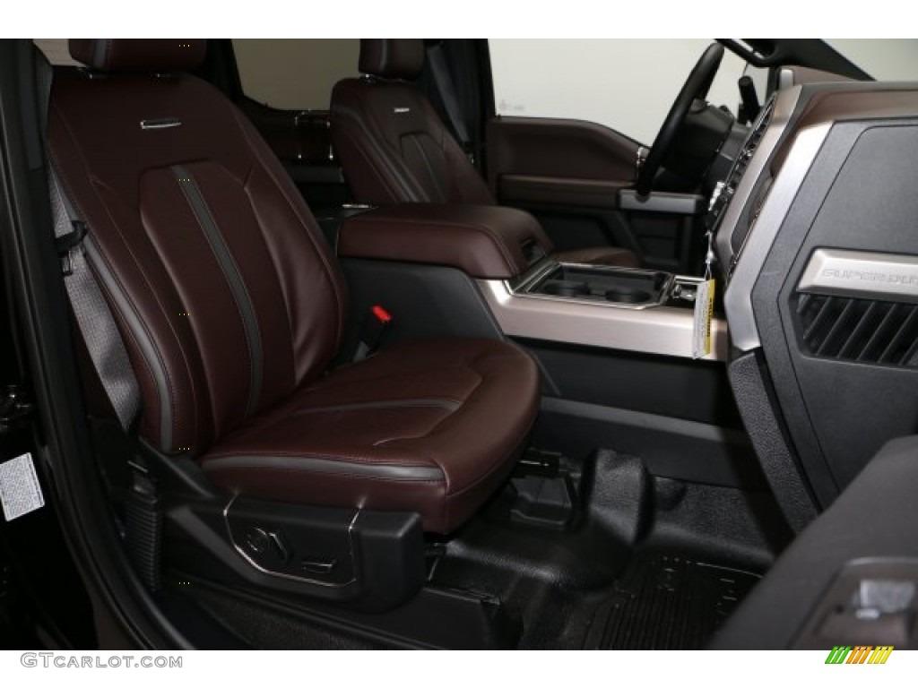 Brunello Interior 2017 Ford F350 Super Duty Platinum Crew Cab 4x4