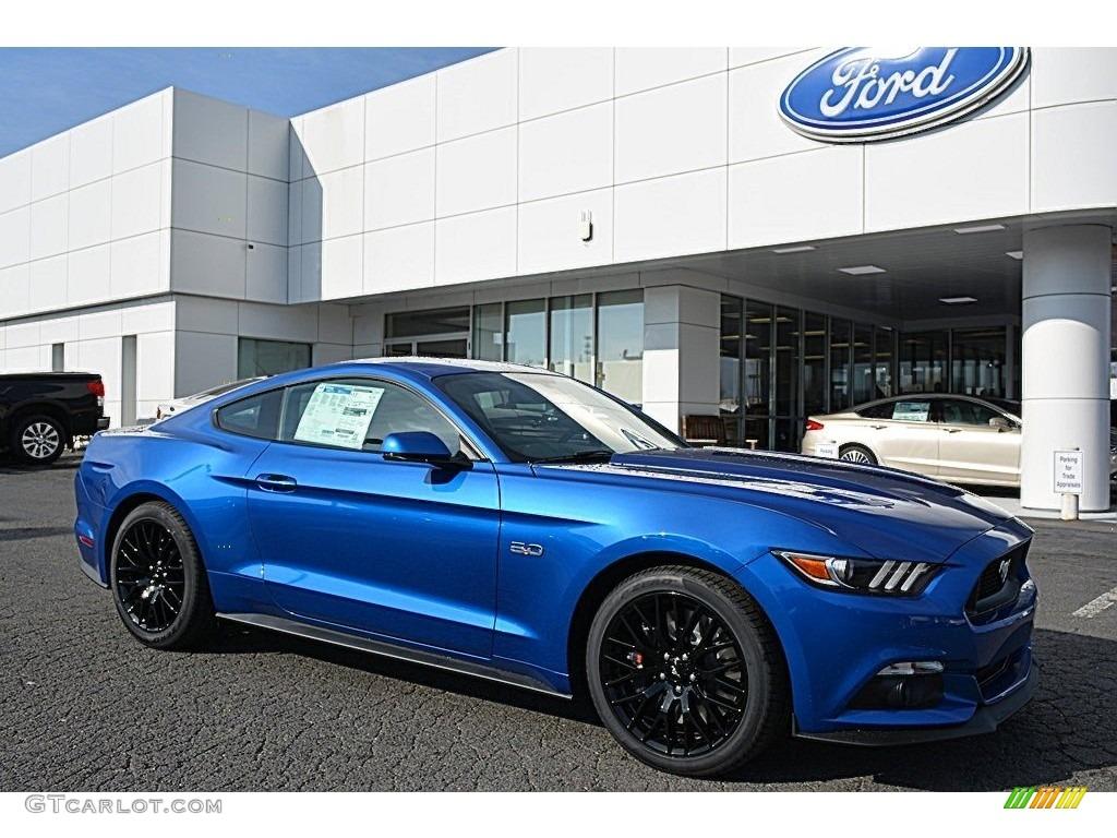 Ford Lightning Specs >> 2017 Lightning Blue Ford Mustang GT Premium Coupe #118575463 Photo #5   GTCarLot.com - Car Color ...