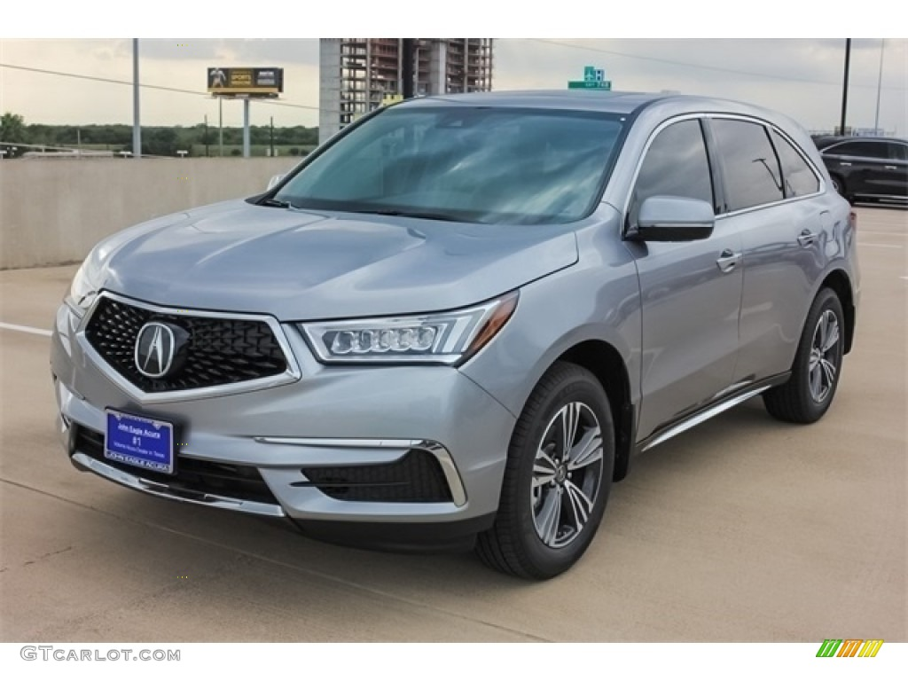 2017 Lunar Silver Metallic Acura Mdx 118575415 Photo 3 Car Color Galleries