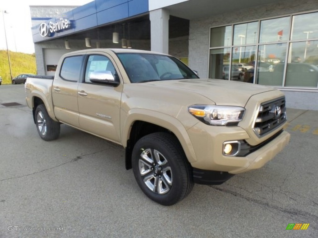 2017 Quicksand Toyota Tacoma Limited Double Cab 4x4 ...