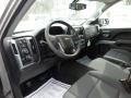 2017 Chevrolet Silverado 1500 Jet Black Interior Front Seat Photo