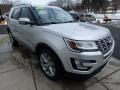 2016 Ingot Silver Metallic Ford Explorer Limited 4WD  photo #7