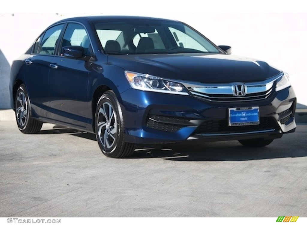 2017 obsidian blue pearl honda accord lx sedan 118661425