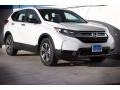 2017 White Diamond Pearl Honda CR-V LX  photo #1