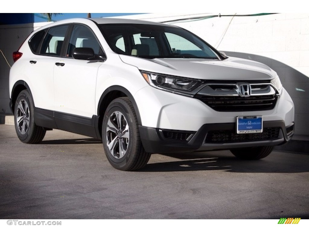 2017 white diamond pearl honda cr v lx 118661456