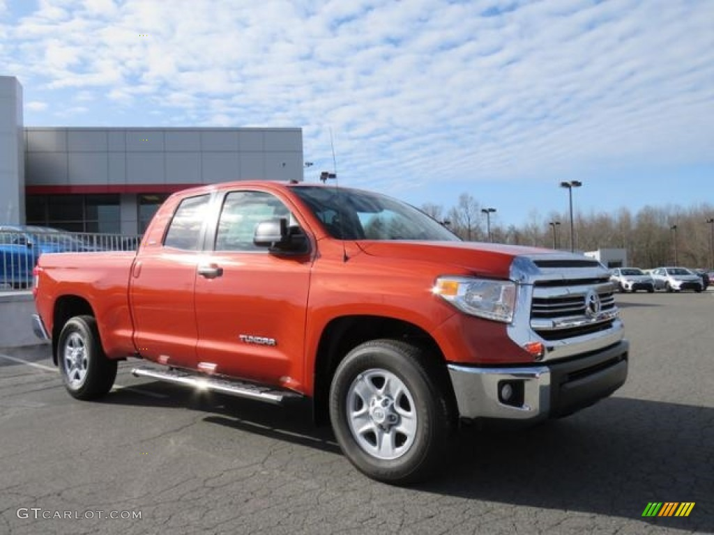 2017 inferno orange toyota tundra sr5 double cab 118661403 car color galleries. Black Bedroom Furniture Sets. Home Design Ideas