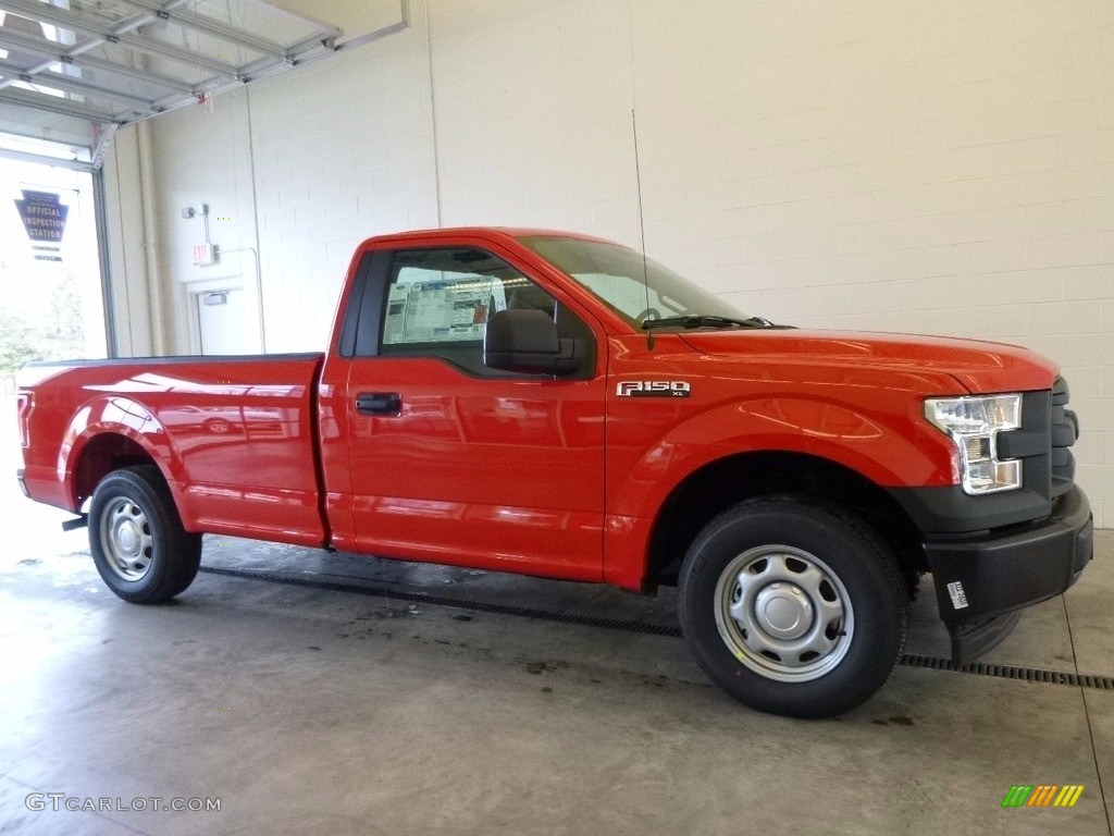 2017 race red ford f150 xl regular cab 118667974 car color galleries. Black Bedroom Furniture Sets. Home Design Ideas
