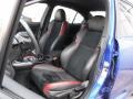 Carbon Black Front Seat Photo for 2016 Subaru WRX #118678116