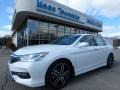 White Orchid Pearl 2017 Honda Accord Touring Sedan