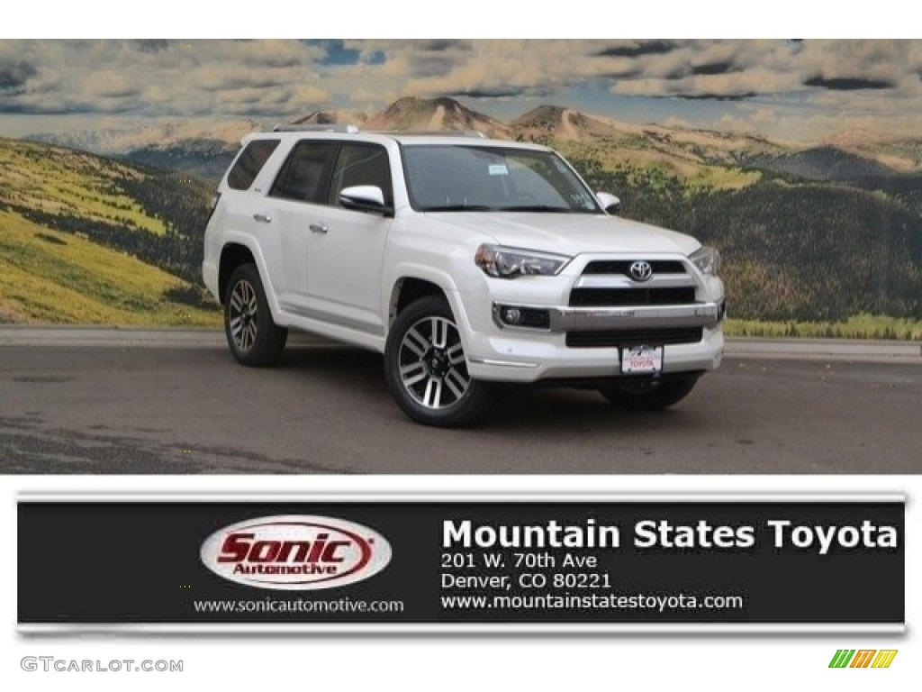 2017 blizzard pearl white toyota 4runner limited 4x4 118694575 car color galleries. Black Bedroom Furniture Sets. Home Design Ideas