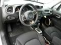 Black Interior Photo for 2017 Jeep Renegade #118701138