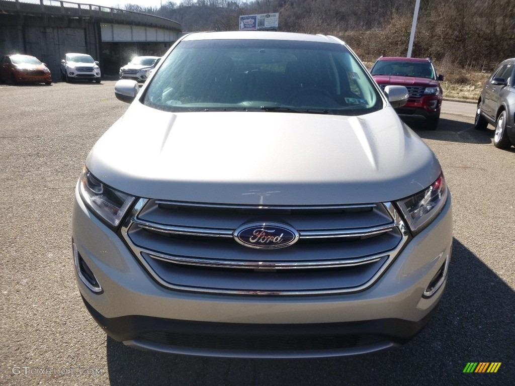 2017 White Gold Metallic Ford Edge Sel Awd 118694672 Photo 8 Car Color Galleries