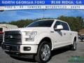 White Platinum 2017 Ford F150 Gallery