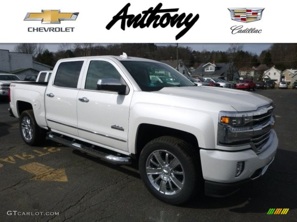 2017 iridescent pearl tricoat chevrolet silverado 1500 high country crew cab 4x4 118694914. Black Bedroom Furniture Sets. Home Design Ideas