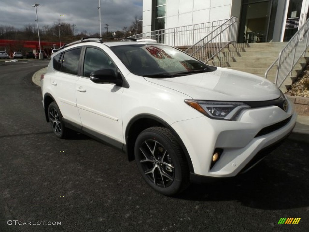 2017 super white toyota rav4 se awd 118694691 car color galleries. Black Bedroom Furniture Sets. Home Design Ideas