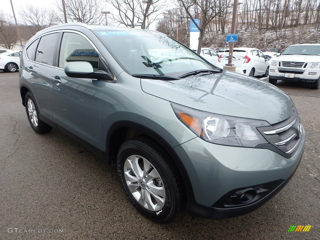 Opal Sage Metallic 2012 Honda CR-V EX-L 4WD Exterior Photo #118739724