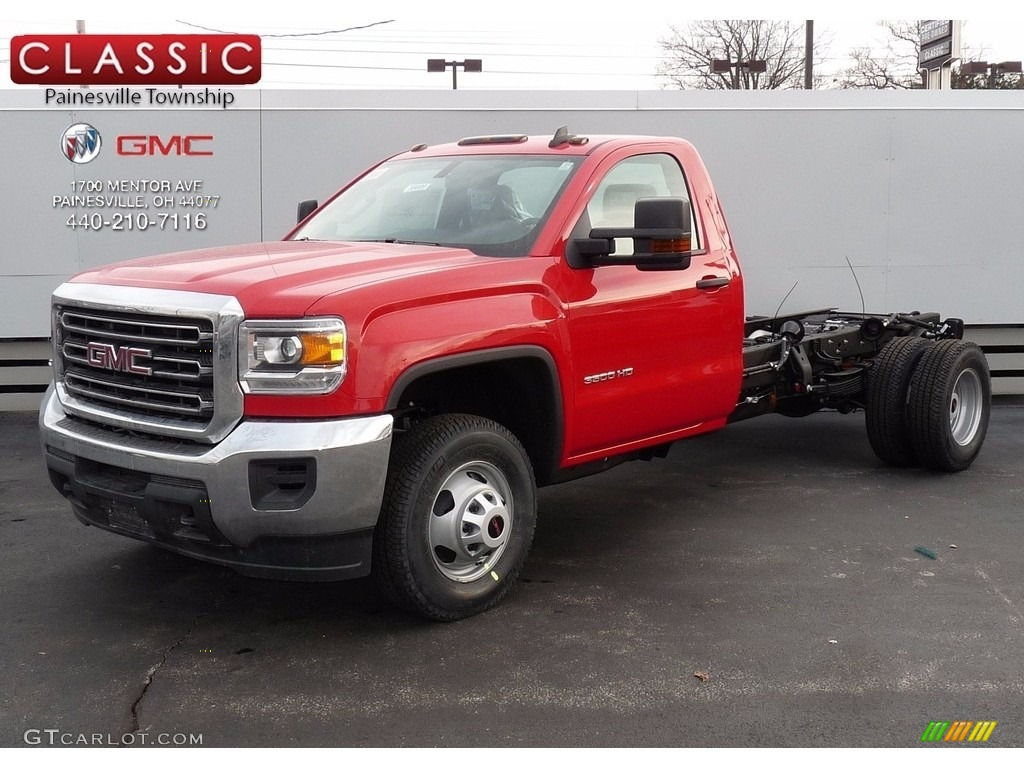 2017 cardinal red gmc sierra 3500hd regular cab chassis. Black Bedroom Furniture Sets. Home Design Ideas