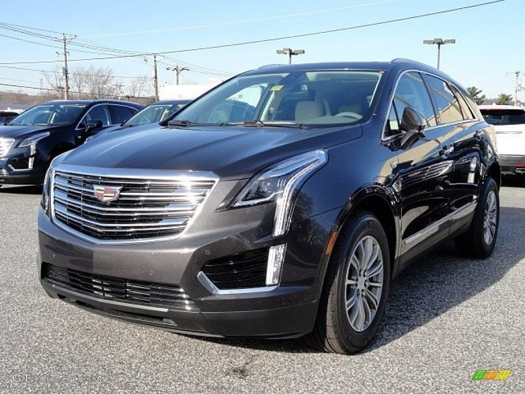 2017 Dark Granite Metallic Cadillac Xt5 Luxury Awd 118762841 Photo 3 Car