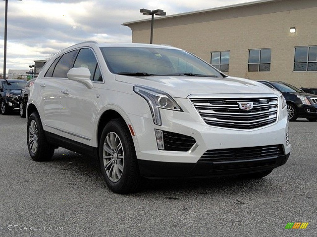 2017 Crystal White Tricoat Cadillac Xt5 Luxury 118762839 Car Color Galleries