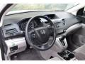 2013 White Diamond Pearl Honda CR-V LX AWD  photo #9