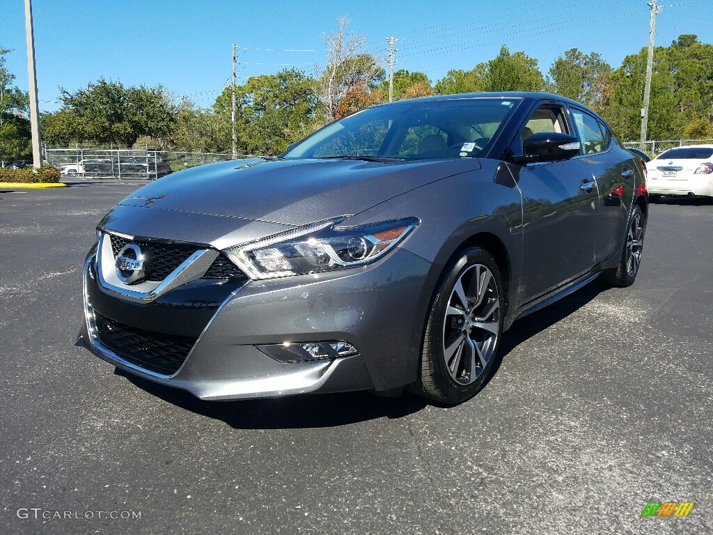 2016 Nissan Sentra Sv >> 2017 Gun Metallic Nissan Maxima SV #118763114 Photo #12 | GTCarLot.com - Car Color Galleries