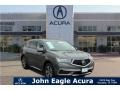 Modern Steel Metallic 2017 Acura MDX
