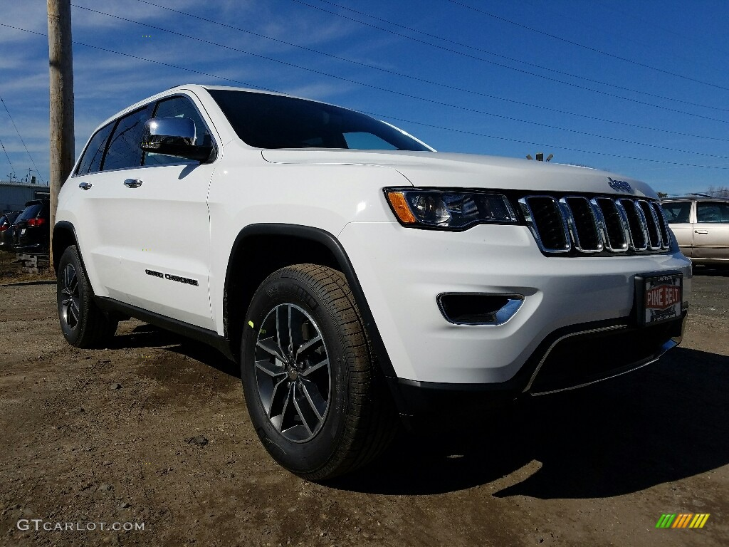 2017 bright white jeep grand cherokee limited 4x4 118793118 car color galleries. Black Bedroom Furniture Sets. Home Design Ideas