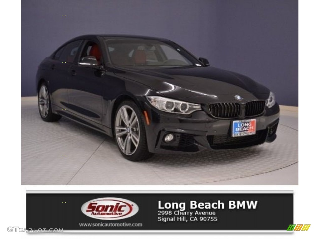 Black Sapphire Metallic BMW 4 Series 440i Gran Coupe