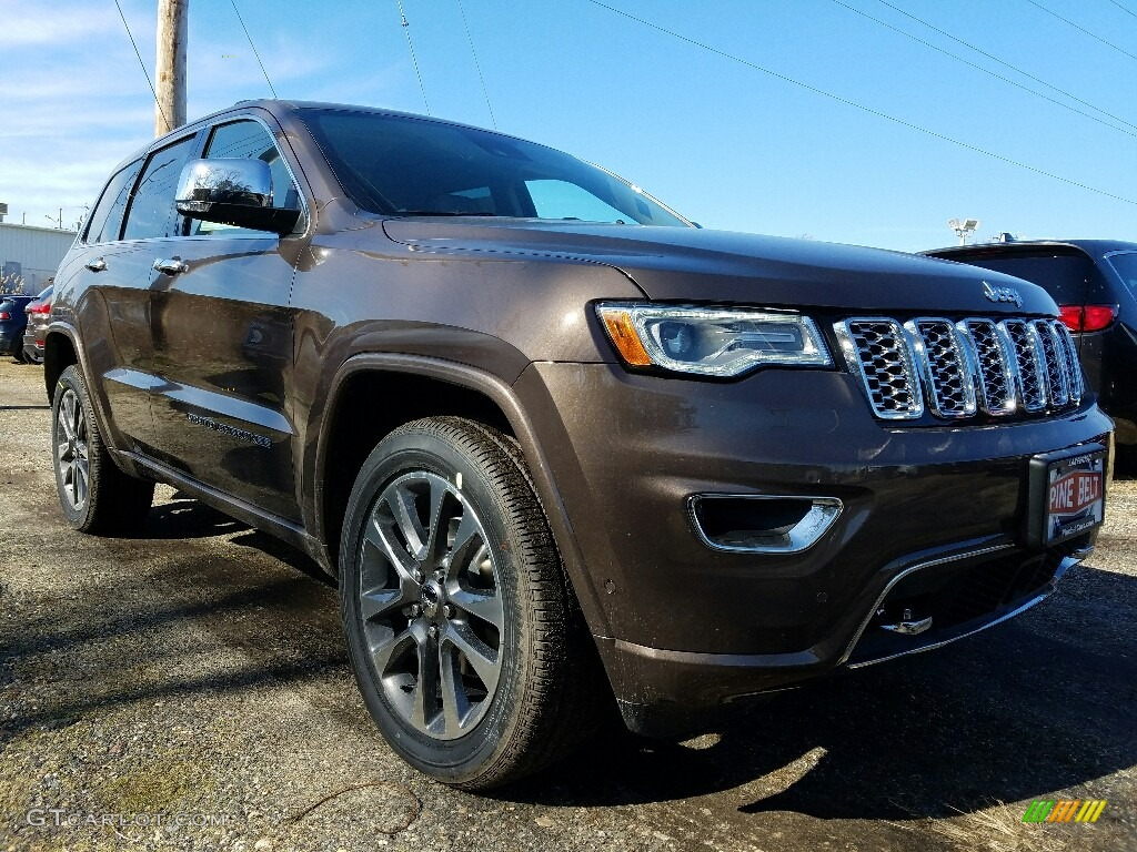 2013 Jeep Grand Cherokee Overland Summit >> Walnut Brown Metallic 2017 Jeep Grand Cherokee Overland 4x4 Exterior Photo #118799417 | GTCarLot.com