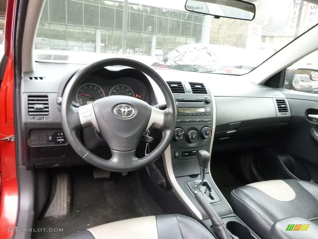 2009 Toyota Corolla S Interior Color Photos