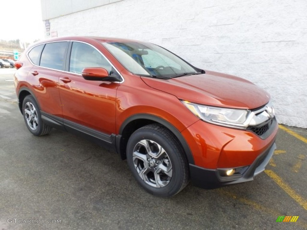 2017 molten lava pearl honda cr v ex awd 118826465 photo