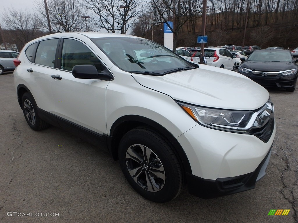 2017 CR-V LX AWD - White Diamond Pearl / Ivory photo #5