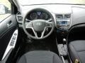 Dashboard of 2017 Accent SE Hatchback