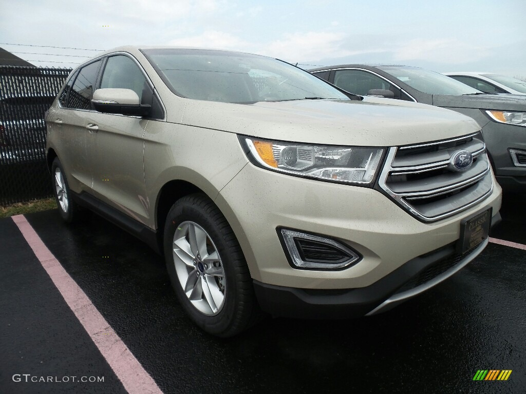 2017 White Gold Metallic Ford Edge Sel Awd 118851460 Car Color Galleries