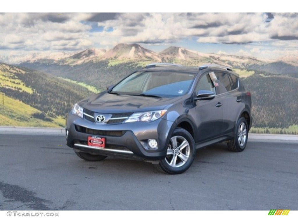 2015 magnetic gray metallic toyota rav4 xle 118851219 photo 5 car color galleries. Black Bedroom Furniture Sets. Home Design Ideas