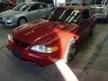 1996 Laser Red Metallic Ford Mustang SVT Cobra Convertible  photo #1
