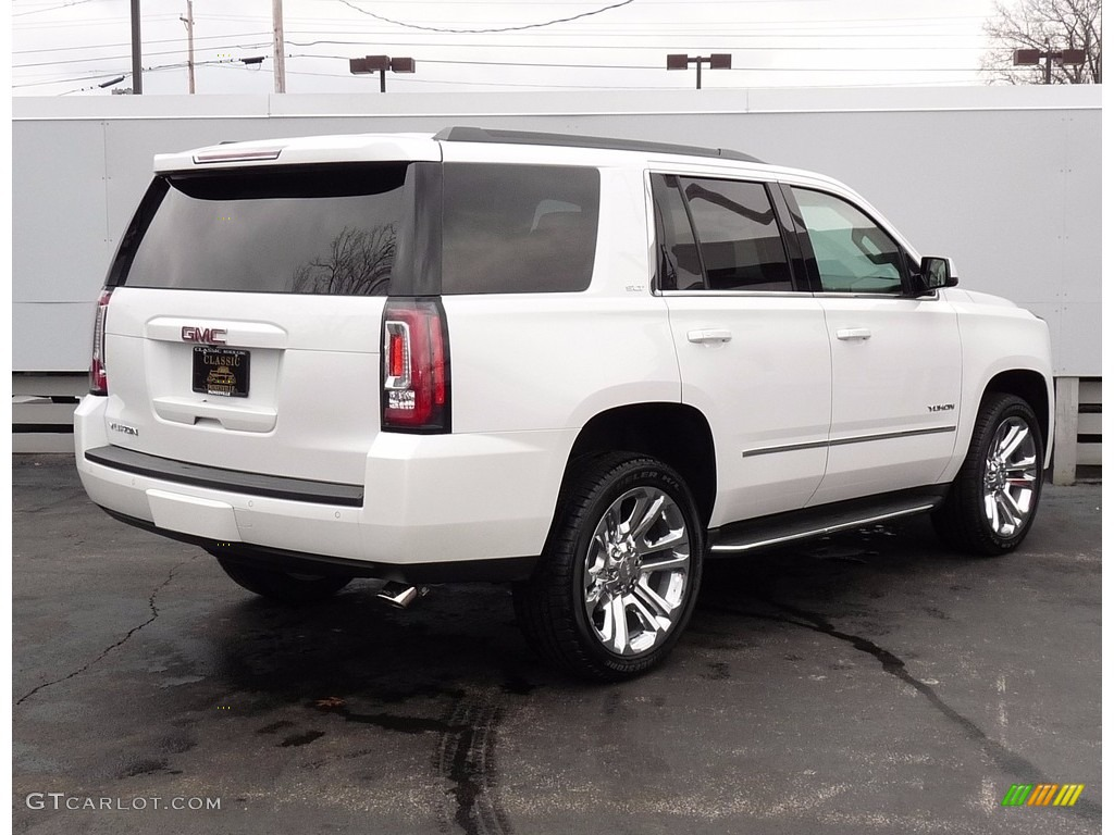 2017 white frost tricoat gmc yukon slt 4wd 118851403 photo 2 car color galleries. Black Bedroom Furniture Sets. Home Design Ideas